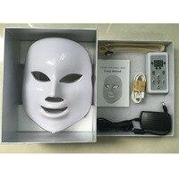 7 цветов светодиодный маска для ухода за кожей морщин угорь лица омоложения кожи лица фотон массаж Красота аппараты для лица