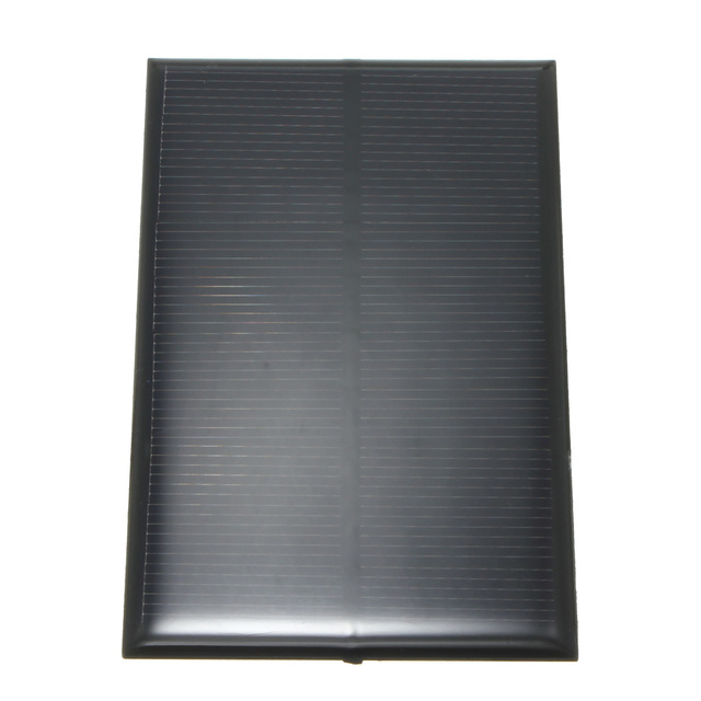 Universal 5V 1.25W 250mA Monocrystalline Silicon Epoxy Solar Panels Module Kit mini Cell for Charging Cellphone Battery 110x70mm