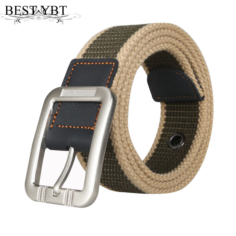 Best YBT military belt outdoor tactical belt men&women high quality canvas belts for jeans male luxury casual straps ceintures