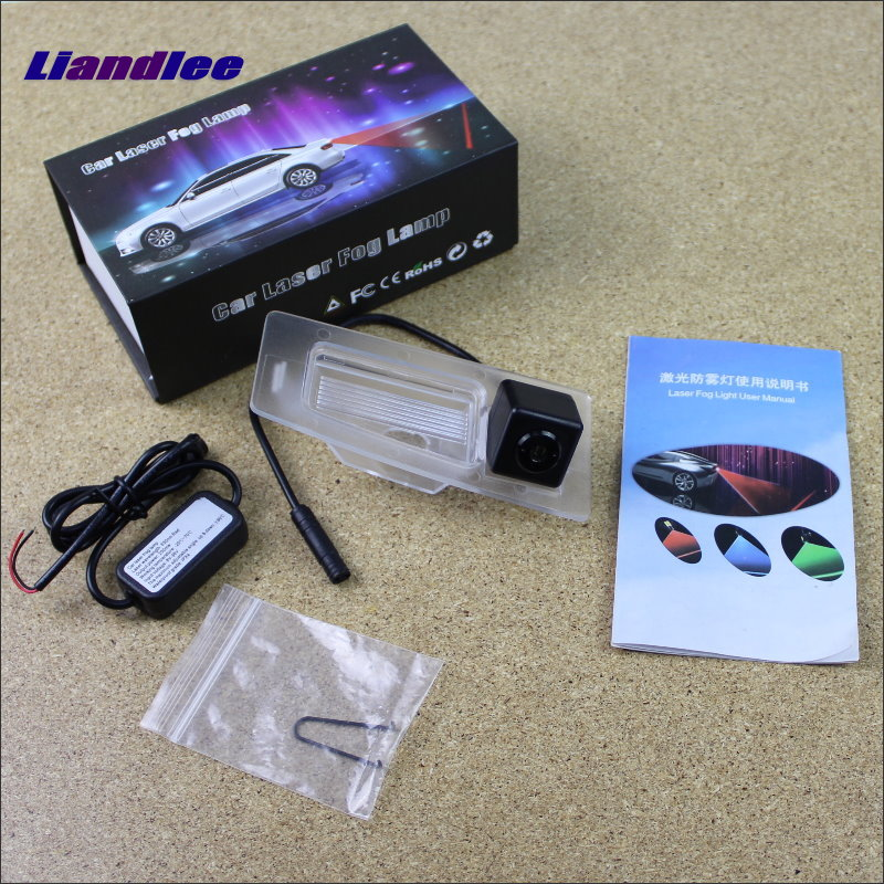 Liandlee Car Tracing Cauda Laser Light For Mazda 3 Mazda3 Sedan 2013~2015 Modified Special Anti Fog Lamps Rear Lights car tracing cauda laser light for volkswagen vw jetta mk6 bora 2010 2014 special anti fog lamps rear anti collision lights