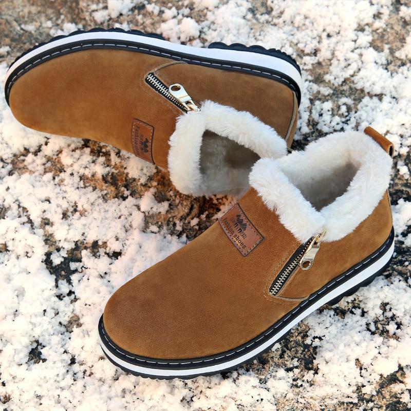 2018 Winter Outdoor Shoes Man Ankle Boot Men Boot Autumn Cotton Fabric Man Snow Shoes Zapatos De Hombre Botas Hombre Snow Boots цена