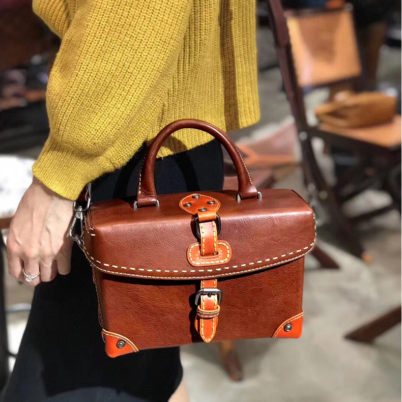 Designer Women Shoulder bag Real Leather Luxury Patchwork Flap Ladies Crossbody Messenger Bags Vintage Handbags new shoulder crossbody bags for women mini chain flap bags genuine leather swallow handbags luxury designer ladies messenger bag