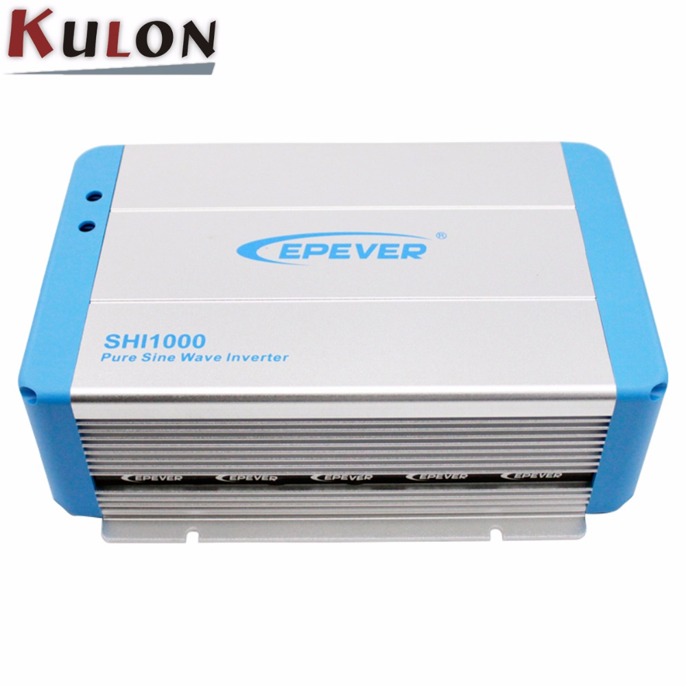 EPEVER Pure Sine Wave Inverter SHI1000 1000W 24V 48V solar home system dc to ac 220V 330V Off Grid PV grid inver 20pcs fgpf4633 to 220f 330v pdp igbt original