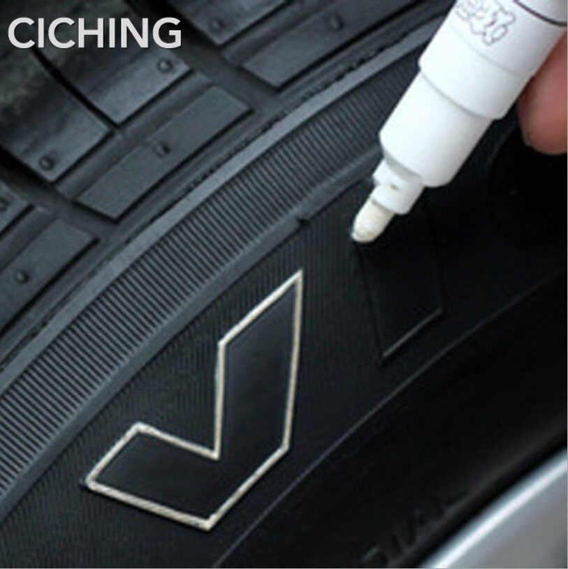 Универсальная водостойкая краска для автомобильных шин маркер для nissan qashqai juke mitsubishi asx lancer outlander mazda 3 6 CX-5 seat leon