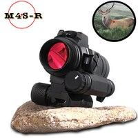 M4 Professional red dot Sight Combination Sight 11MM /20mm rail rifle airsoft outdoors hunting scope riflescope hunting optics
