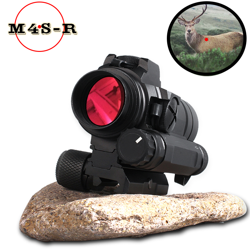 M4 Professional red dot Sight Combination Sight 11MM /20mm rail rifle airsoft outdoors hunting scope riflescope hunting optics