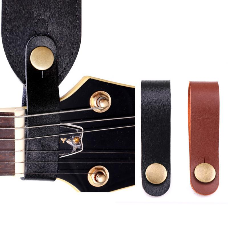 Guitar Strap Buckle Headstock Tie Guitar Accessories Suitable For Guitar Ukulele Bass Strap Strings Instrument Straps