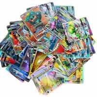 2019 meilleure vente brillant cartes jeu bataille Carte 60 100 120 200 pièces échange Xx cartes jeu enfants jouet