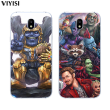 цены For Samsung Galaxy S8 case S6 S7 Edge S9 Plus S10 Lite Note 9 8 Iron Man Coque Soft TPU Marvel Avengers Hero Luxury Etiu Fundas
