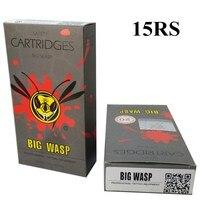 BIGWASP Gray Disposable Needle Cartridge 1RL And 5RS 20Pcs Box