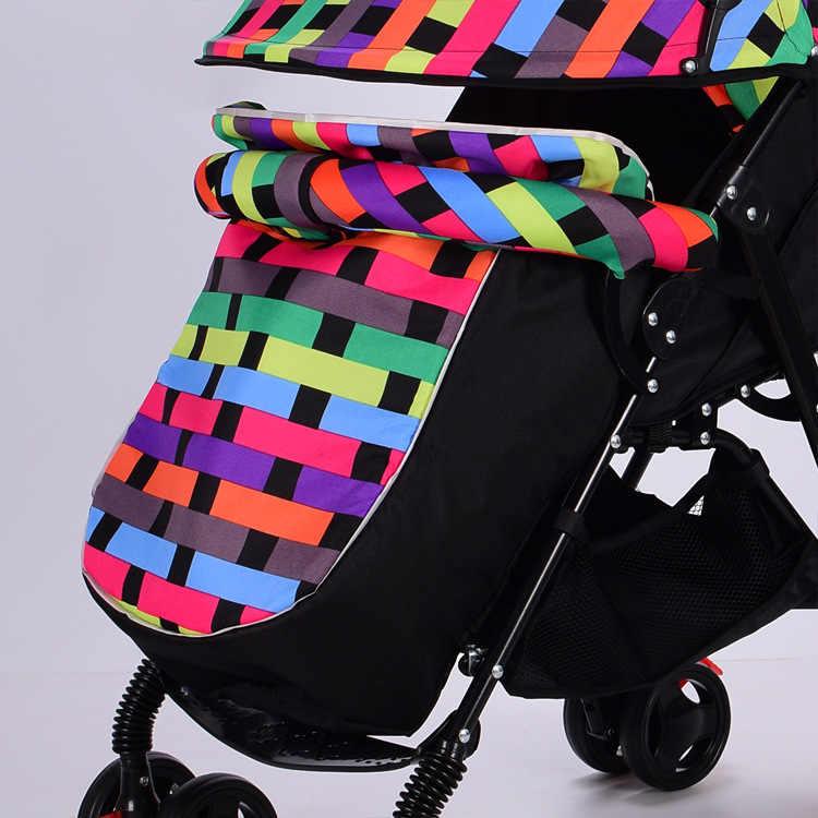 2018 รถเข็นเด็กทารก FOOTMUFF Cover ถุงเท้ารถเข็นเด็กขารถเข็น Buggies รถเข็นเด็กอุปกรณ์เสริมฟุต warm Baby Cover