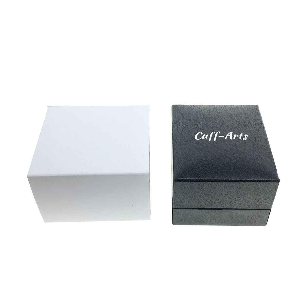 Kerah Pin untuk Pria Nautical Jangkar Rantai Lencana Bros Hijab Enamel Pin Brocade PUSHEEN dengan Kotak Hadiah dengan Cuffarts p10082