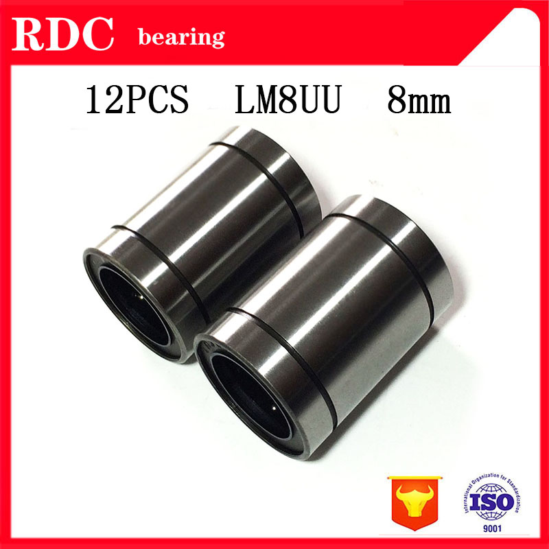 high-quality-12-pcs-lot-lm8uu-8mm-linear-ball-bearing-linear-bearing-8mm-3d-printer-parts-lm8-cnc-parts-factory-direct