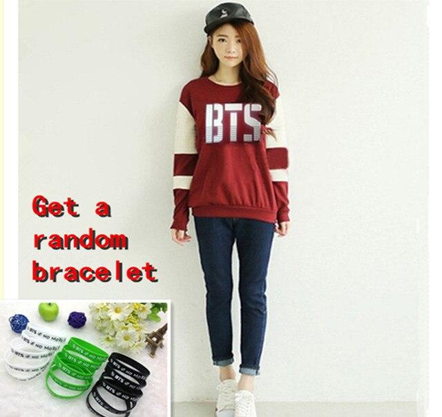 BTS Red SweatShirt