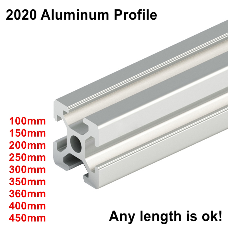 Euro Standard 3D Printer Frame Oxide Anodized Aluminum Extrusion Profile 2020 Series
