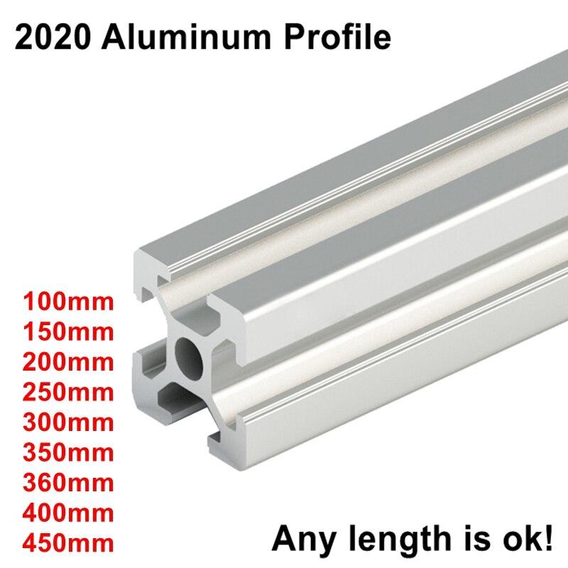 Euro Standard 3D Printer Frame Oxide Anodized Aluminum Extrusion Profile 2020 Series