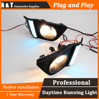 A T Car Styling For Honda FIT LED DRL For Honda FIT High Brightness Guide LED