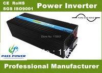 Фабричная 5kw/5000 Вт Чистая синусоида Инвертор DC 12 В к AC 220 В 240 В один год гарантии