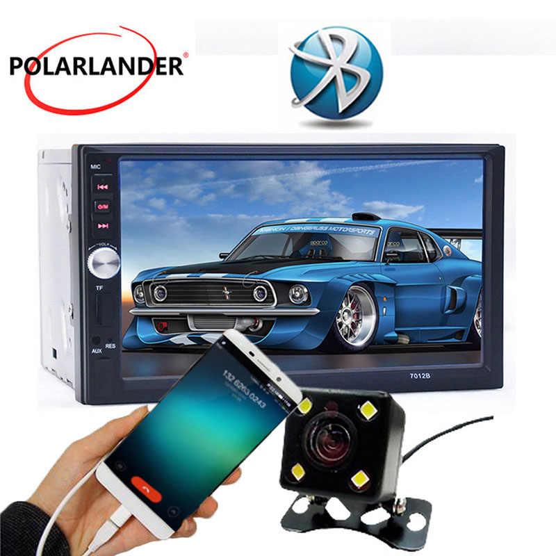 7 pulgadas 2 Din de Audio de coche Autoradio MP5 jugador tamaño Universal Radio Bluetooth USB/TF/FM Entrada Aux radio cassette reproductor de cintas