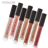 7unids Lot Waterproof Metallic Nacreous Without Attenuation Long Lasting Liquid Face Lipstick Metal Lip Meta Lipstickl