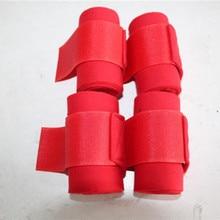 Aoud, мягкие повязки для верховой езды, 4 шт., снаряжение для верховой езды, леггинсы для верховой езды, защитные товары для ухода за лошадью