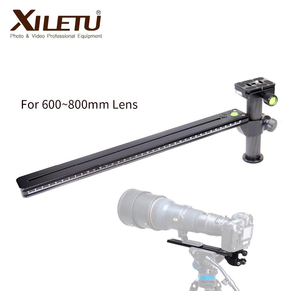 Xiletu LTB 450 Stable Telephoto zoom Lens Bracket Clamp Plate LongFocus Lens Support Holder For Tripod