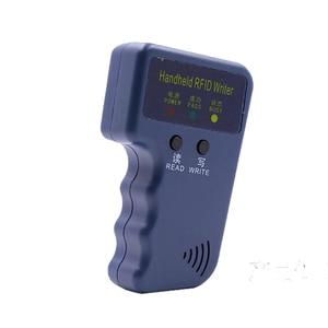 Image 2 - Handheld 125Khz EM4100 RFID Reader Copy Writer Duplicator(T5557/T5577/EM4305)+ 5pcs EM4305 Rewritable ID Keyfobs