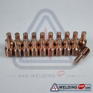 Consumibles de la antorcha de corte por Plasma 220669 electrodo 45Amp Paquete de 20 piezas apto inPMX 45 cortador de Plasma de aire