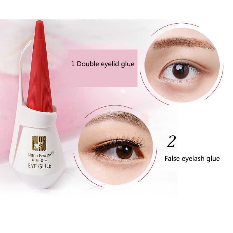 5665ce4d4a1 ... Hot Marie Beauty Glue For Eyelashes Brand Makeup Transparent Eyelid  Lashes Black White Eyelash Extensions Adhesive ...