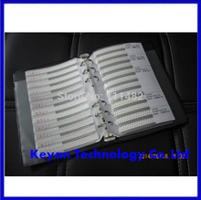 1206 SMD Resistor sample book,  5%,,0R-10M ,170 values X 50pcs=8500pcs, Electronic Components Package, Samples kit