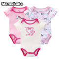 3Pcs/set Newborn Baby Bodysuit Body Boy Girl Clothing Sets 100%Cotton Body Bebes Baby Next Jumpsuit Clothes