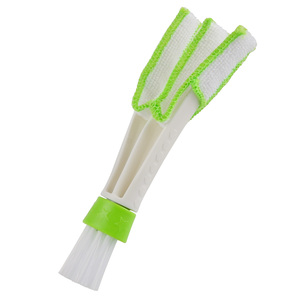 Image 5 - Car Clean Brush Cleaning Accessories Car Auto Air Conditioner Vent Cleaner Blinds Keyboard Dust Computer Car styling Clean Tools