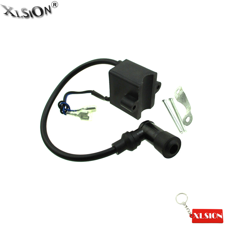 XLSION Aftermarket Ignition Coil CDI For 50cc 60 66 80cc 2Stroke Engine Motorized Bicycle Push Bike