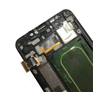 """Image 2 - 5,7 """"Amoled для Samsung Galaxy S6 EDGE Plus G928 G928F ЖК дисплей кодирующий преобразователь сенсорного экрана в сборе Замена 100% протестирована"""