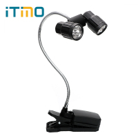 ITimo Adjustable Mini LED Book Lights Bright For Camping Fishing Clip On Reading Table Lamp Flexible