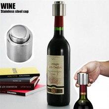 1Pcs Bottle Stopper Hot Sale Stainless Steel Red Wine Stopper Vacuum Sealed Red Wine Bottle Spout Liquor Flow Stopper Pour Cap