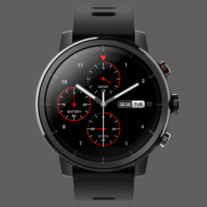 Xiaomi Inteligente Relógios Amazônia Amazônia Stratos Support11 Lembrete Chamada Música Do Bluetooth GPS à prova d' água Esporte Modos 5ATM