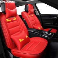 [KOKOLOLEE] auto car seat covers For vw passat b6 renault logan 2 bmw e39 f10 suzuki jimny opel car accessories car styling