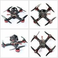 DIY Brinquedos DO RC RTF Quadcopter FPV Zangão Mini Racer 190mm Kit de Fibra De carbono Corridas Quadro SP Corrida F3 Controlador de Vôo F18893-A