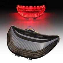 Для Honda CBR600RR 2003-2006 04 05 CBR 600 RR двигателя Встроенный задний фонарь светильник светодиодный поворотники сигнальная лампочка CBR1000RR