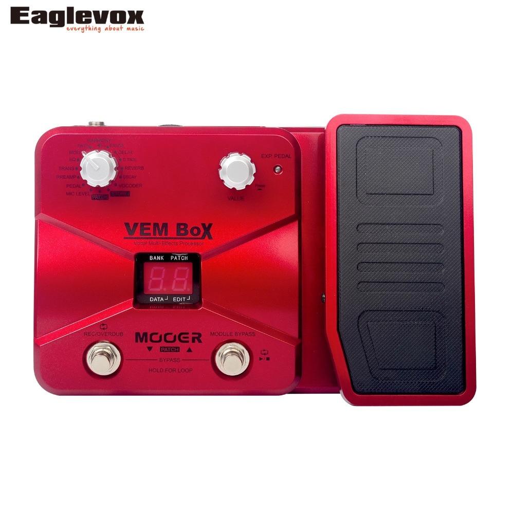 Mooer VEM Box Vocal Multi-Effects Processor Effect Pedal VE50 маникюрный набор ves vem 105