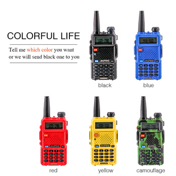 ptt uv5r baofeng uv 5r with headset uhf vhf marine cb radios communication hf transceiver Portable two way 2 pcs walkie-talkie 2