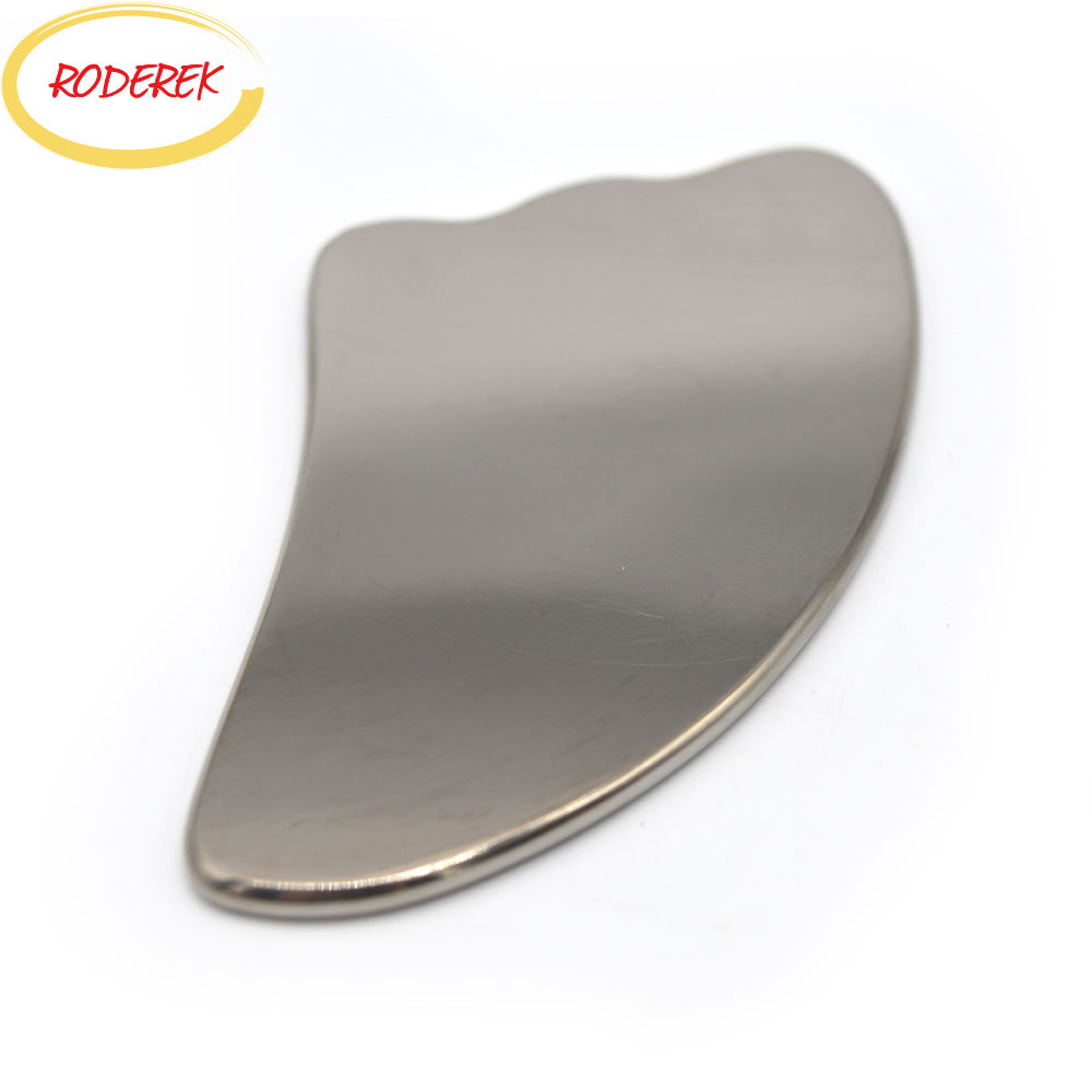 купить Titanium Guasha Board Stainless Steel Gua Sha Therapy Tool Body Scraper Health Care Massage Products недорого