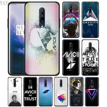 Avicii DJ Tim Phone Case for Oneplus 7 7Pro 6 6T Oneplus 7 Pro 6T Black Silicone Soft Case Cover