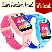Оптовая продажа 2019 Новый умный часы с определением локации трекер анти потерянный безопасный SOS lbs детские часы телефон для IOS Android детская и