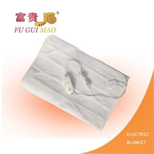 Image 3 - FUGUIMAO غطاء كهربائي أبيض نقي مانتا Electrica 150x70 سنتيمتر بطانية التدفئة الكهربائية للسرير 220 فولت بطانية صوف كهربية الجسم أدفأ