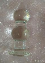 Evergreen Huge Glass Butt Plug For Unlimited Fun
