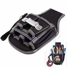 Электрик скидка утилита отвертка карман пояса талии комплект инструмент держатель сумка