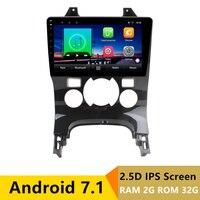 9 2 + 32 г 2.5D ips Android 7,1 DVD мультимедиа плеер gps для peugeot 3008 2006 2012 2013 2014 2016 Радио стерео навигации