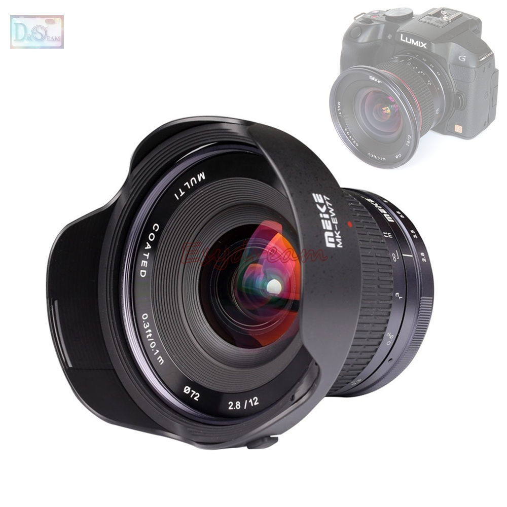 12mm 12 mm F2.8 f/2.8 Manual Wide Angle Lens for Olympus Panasonic M43 MFT EP5 OM-D E-M5 E-M1 E-M10 E-PL7 EM5 EM1 EM10 Mark II фотоаппарат olympus om d e m5 mark ii kit 12 40 mm f 2 8 black